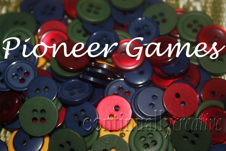 22 Pioneer Games kids LOVE.  Great for the 24th of July!