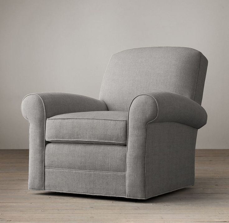 lowell club swivel chair swivels recliners restoration hardware - Swivel Recliner Chairs For Living Room