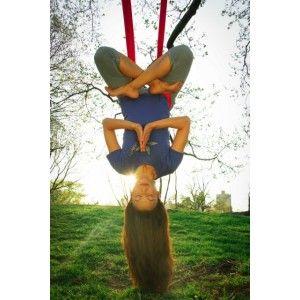 I need my own antigravity yoga hammock so badly.    The Harrison AntiGravity Hammock Kit
