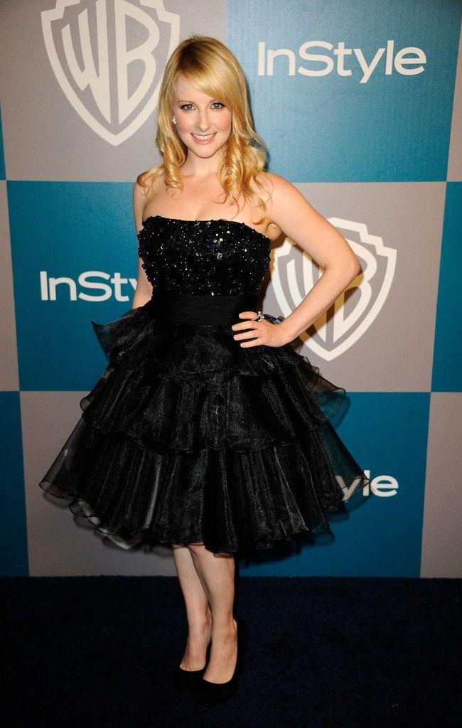 Melissa Rauch Strapless Dress - Strapless Dress Lookbook - StyleBistro