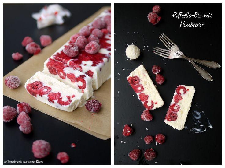 Raffaello-Himbeer-Eis