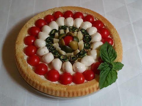 Crostata morbida salata, Ricetta Facile e Veloce - YouTube