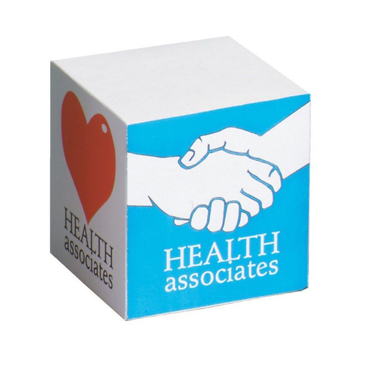 Promotional Products- Promotional Post-It (R) Cube. (Customized with your brand or logo)
