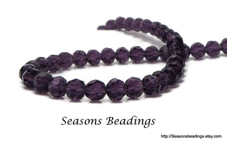 Excited to share the latest addition to my #etsy shop: 96 Translucent Purple 6mm Faceted Round Crystal Beads, 6mm Purple Chinese Crystal Beads - Free Shipping to Canada http://etsy.me/2EnWOLL #supplies #purple  #crystal #jewelrymaking #round #freeshipping #canada