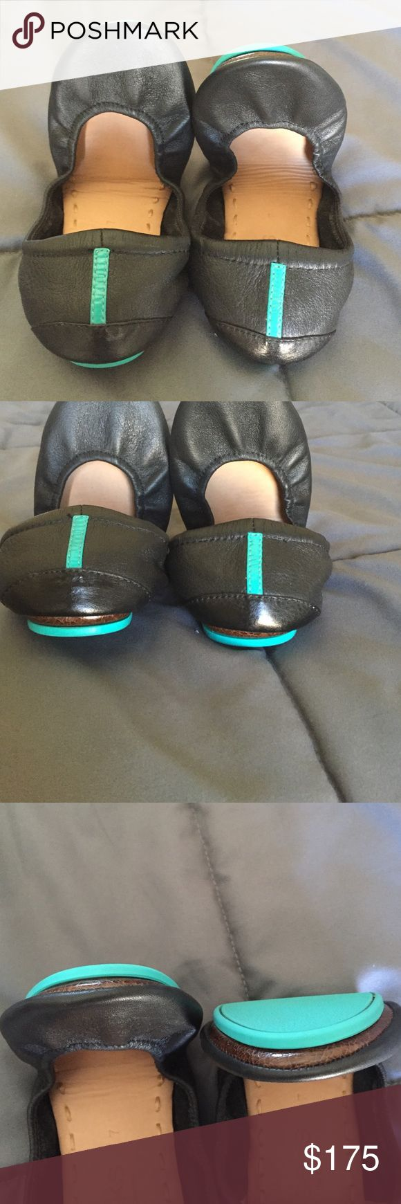 Matte Black Tieks, 7 Like new Tieks, matte black, size 7. I don't think these even made it out of the house! Price is firm Tieks Shoes Flats & Loafers
