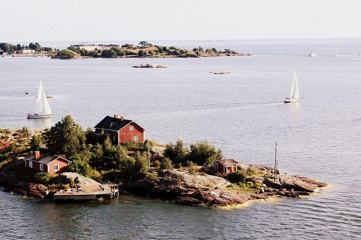 Beautiful #Helsinki archipelago #Finland