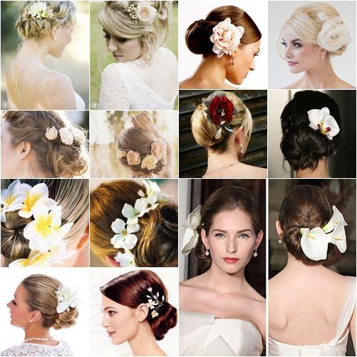 Gaya Sanggul Dengan Bunga Hair Style Di 2019 Hair Styles