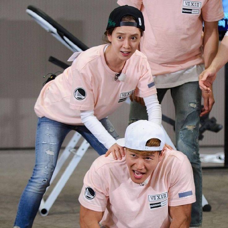 Soon Ji Hyo and Kim Jong Kook, Running Man ep. 301