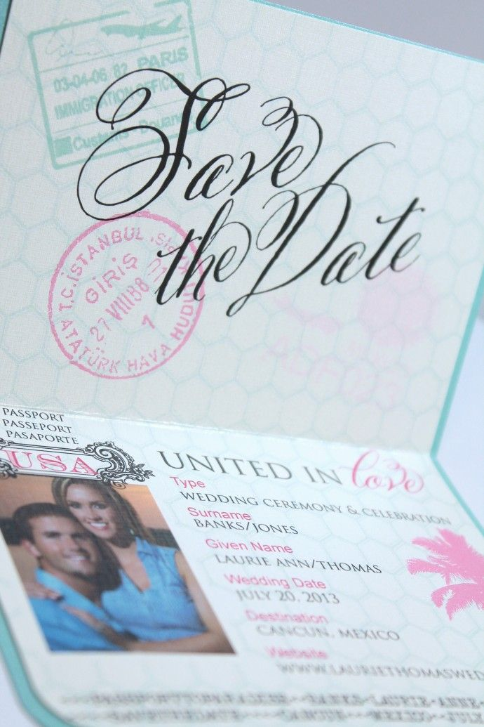 Top 25 ideas about Save The Date Invitations and Programs on – Save the Date Wording for Destination Wedding
