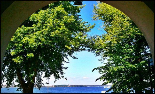 View of the sea, Suomenlinna Visitor Center