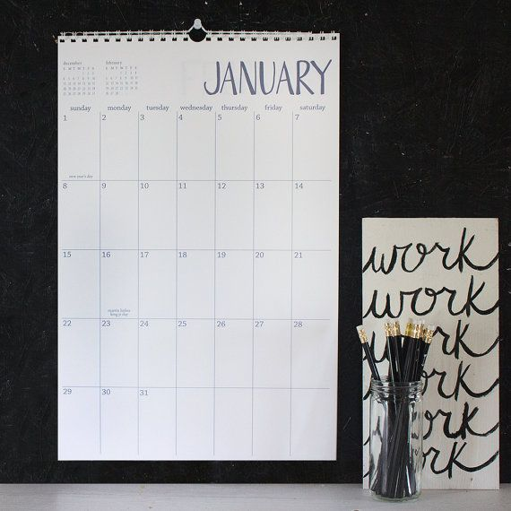 Top 25+ Best Large Wall Calendar Ideas On Pinterest | Clipboard