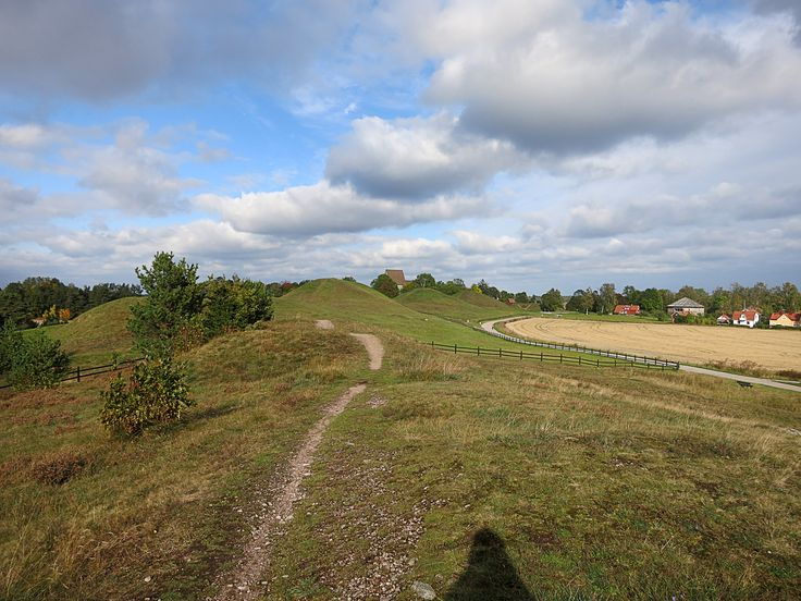 Gamla Uppsala hills, graves of the ancient kings (by Savier)