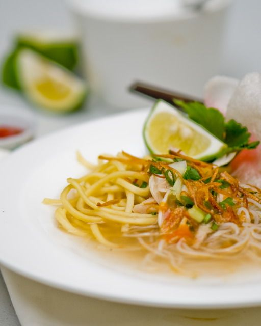 Indochine Kitchen » Mie Sop Ayam – Indonesian Chicken Noodle Soup