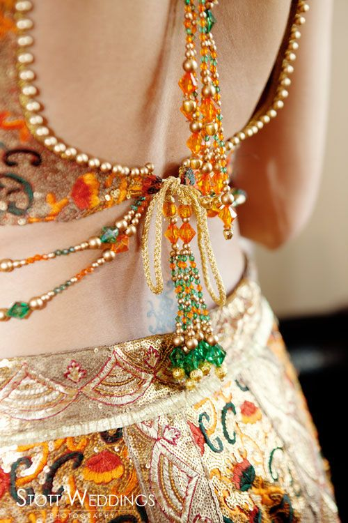 It's all in the details. #tassels #choli |for more, follow my South Asian Fashion boards!