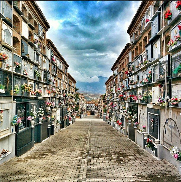 Sometimes, even the dead have a million things to say, you just need to listen carefully. In #Andalusia, Ameya visited this beautiful #cemetery that give a new meaning to burial.