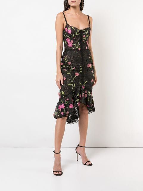 3de4d7fe Marchesa Notte fitted midi dress $695 - Shop SS19 Online - Fast Delivery,  Price