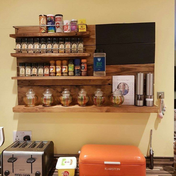 Debbie loves her spice rack- looks amazing in her kitchen don't you think?