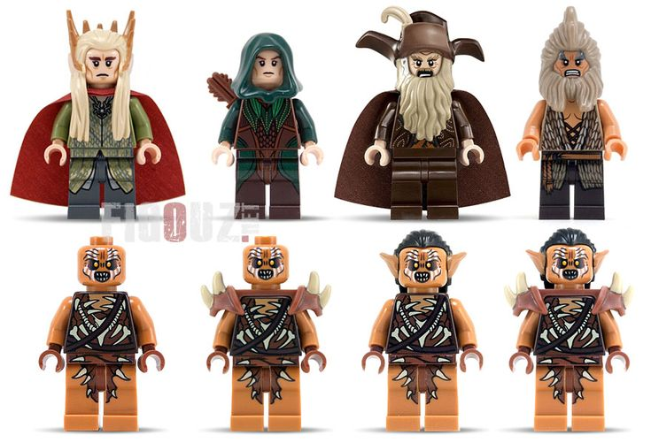 Les minifigurines 2014 LEGO The Hobbit - La désolation de Smaug !