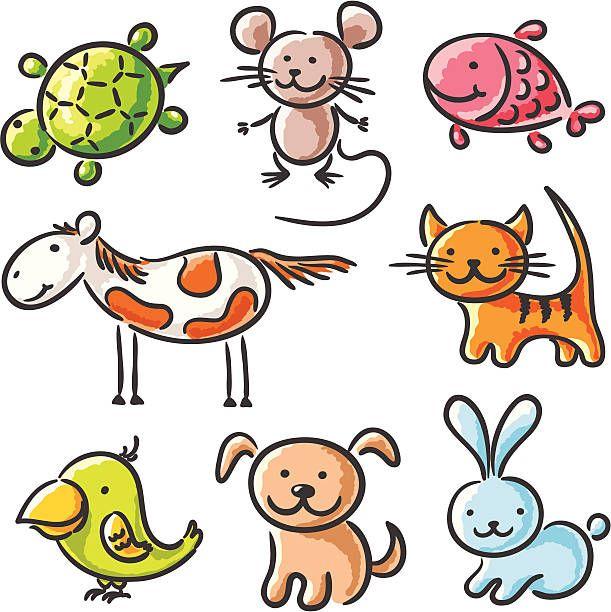 Animais De Estimacao Animais De Estimacao Animais E Desenhos