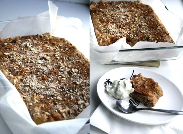 Sund æblekage / perfekt snack efter træning   Anna Würtz