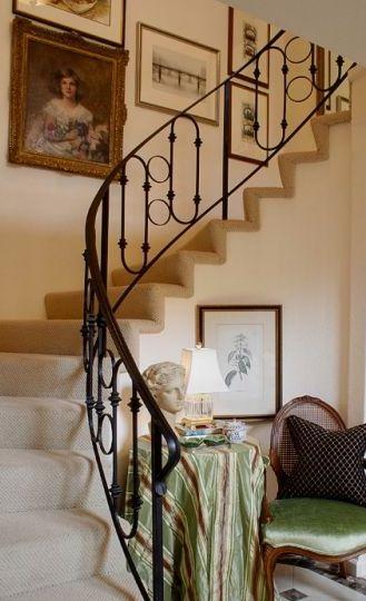 custom wrought iron staircase