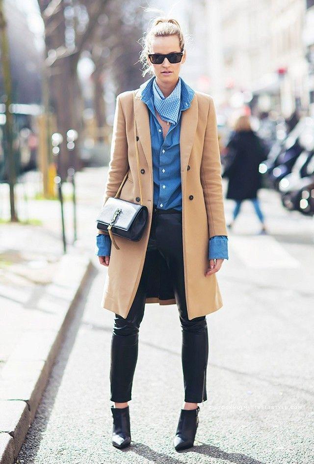 A Camisa Jeans já virou peça-chave do guarda-roupa fashion! Sempre em alta, ela deixa os looks mais modernos e despojados, e você pode usá-la de vária...