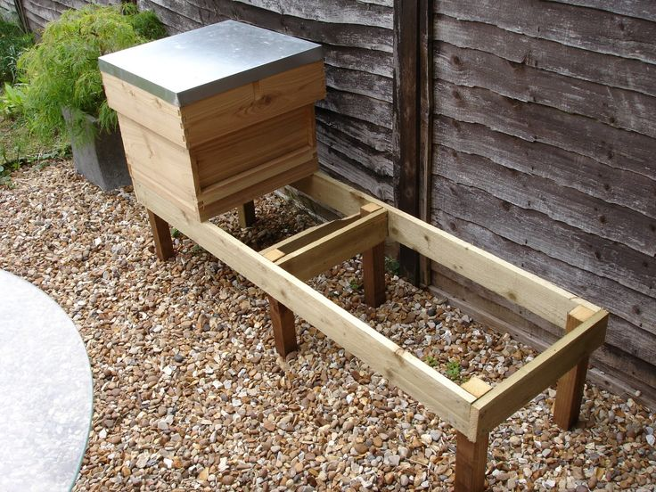 Hive Stand Designs : Beehive stand bees pinterest