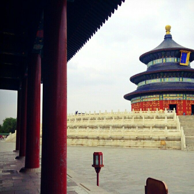 Temple of heaven - Beijing - China (done)