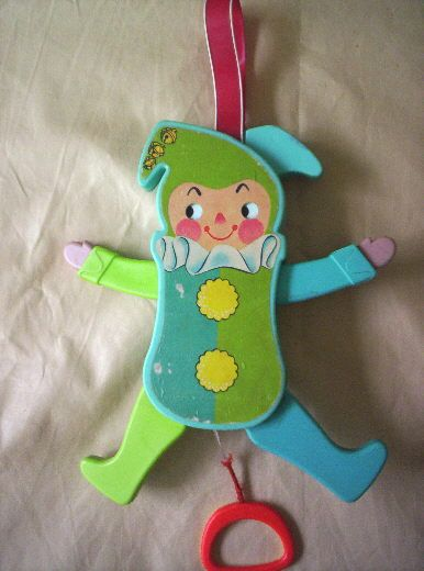 Fisher Price Jolly Jumping Jack Crib Toy I had this OMG totally forgot about it!!!
