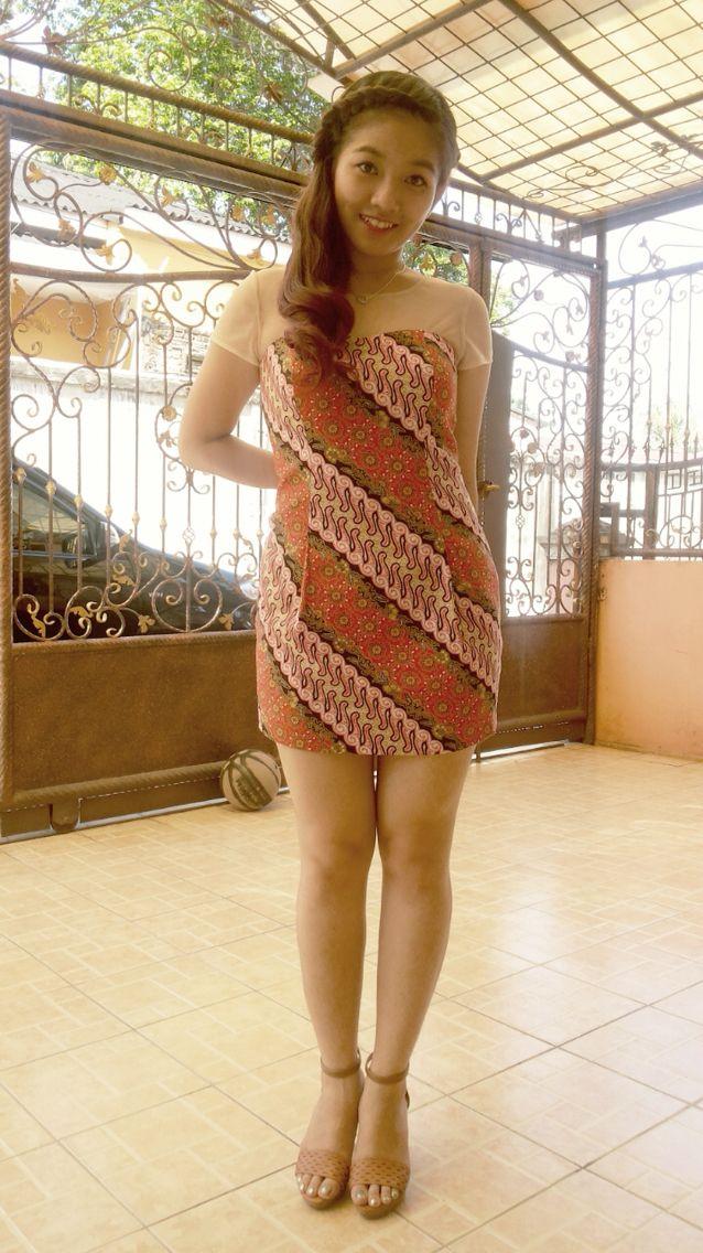 Batik dress  #batik #dress #tile #madebyorder