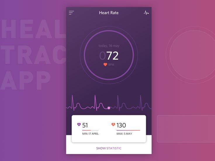 Health Tracker by Roman Shelekhov