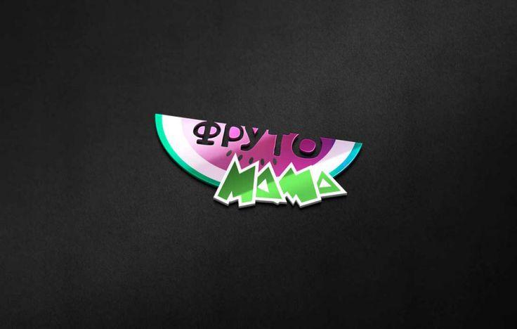 Логотип для блога материнства, родительства, сыроедении и фрукторианстве Фруто Мама