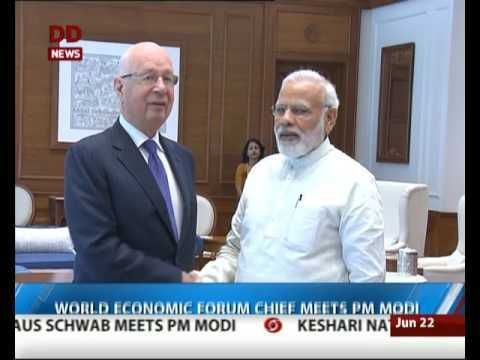 World Economic Forum Chief meets PM Modi https://t.co/lcC3X4l4Iy #NewInVids https://t.co/TXAhz5F5Q4 #NewsInTweets