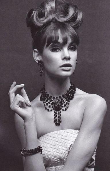 60's model Jean Shrimpton. So beautiful.