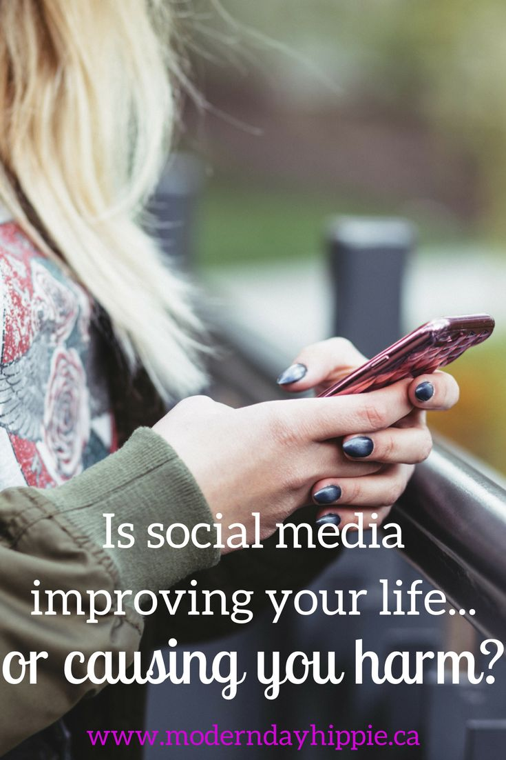 Is social media improving your life? Or causing you harm? #motherhood #socialmedia #momlife #momhacks