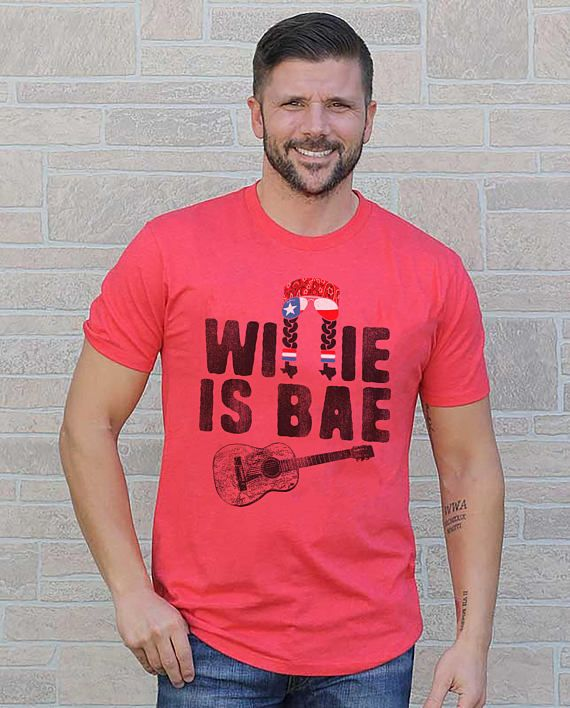 If anyone is Bae, Willie Nelson Is Bae. Willie Nelson is the OG Bae. Printed on a super-soft, baby-knit t-shirt looks great on both men and women – it fits like a well-loved favorite. Made from 100% cotton, except for heather colors, which contain polyester.  • 100% ring-spun cotton (heather colors contain polyester) • Baby-knit jersey • Shoulder-to-shoulder taping • Cover stitched and hemmed sleeves • Side-seamed
