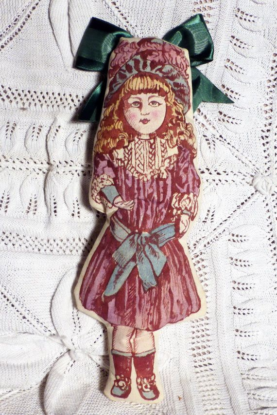 hand painted vintage doll  6  bambola di factoryoftheartideas
