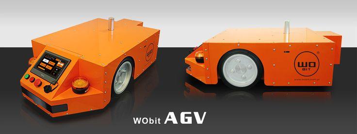 Robot przemysłowy AGV » Roboty przemysłowe » WObit