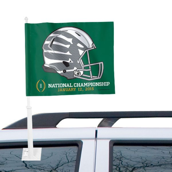 Oregon Ducks WinCraft 2015 College Football Playoff National Championship Bound Car Flag