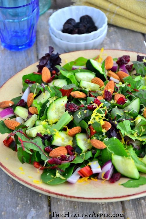 Cranberry, Swiss Chard & Almond Salad and What Success Means To Me #glutenfree