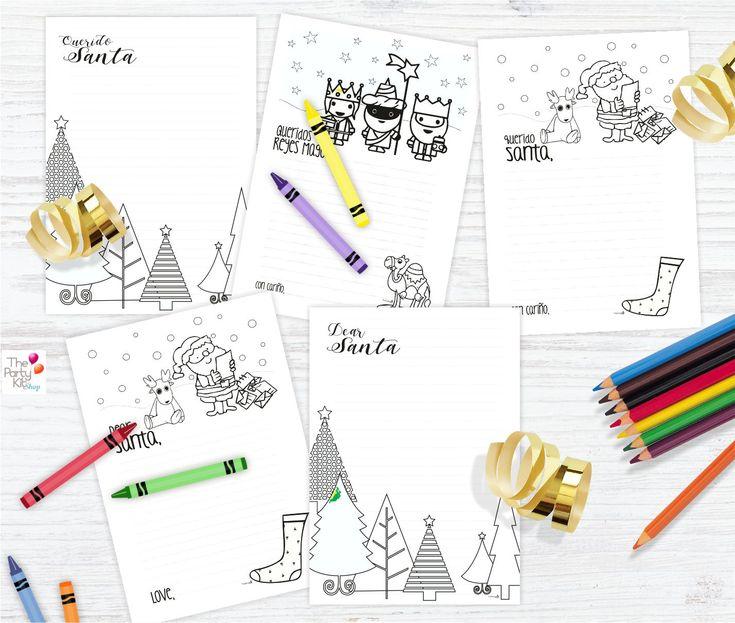 Santa's Letters for the Whole Family – thepartykitshop #etsy #etsyshop #etsyseller #christmas #navidad