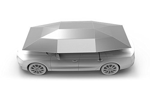 Carports - Car Tent Semi Automatic Folded Portable Automobile Protection Umbrella Sunproof Car Canopy Cover *** Visit the image link more details. (This is an Amazon affiliate link)