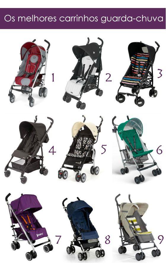 Os melhores carrinhos guarda-chuva - Bebê com Estilo