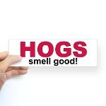HOGS smell good vehicle sticker! Only $5.00! #Razorback #WPS #Arkansas #Hog #Football #SEC