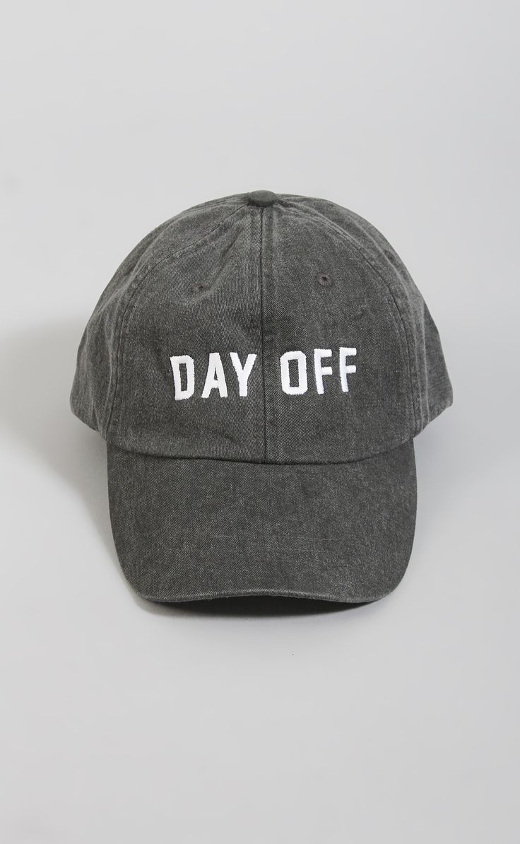 day off baseball hat NEED