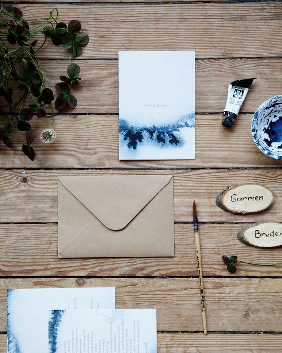 33 Aquarell Hochzeits Briefpapier Ideen Inspirieren Lassen