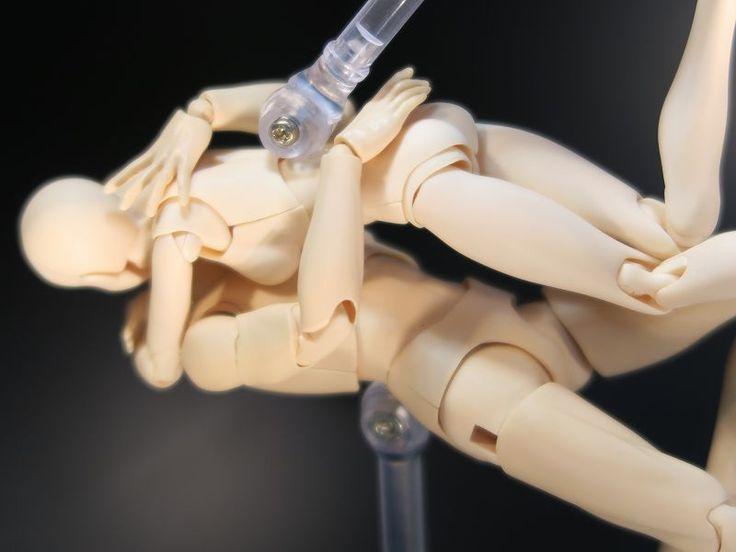 デッサン人形の考察 体育座り | KITAJIMAのお絵かき研究所