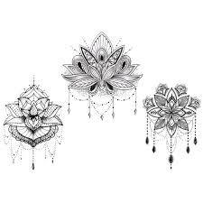 Resultado de imagen para lotus tatouage
