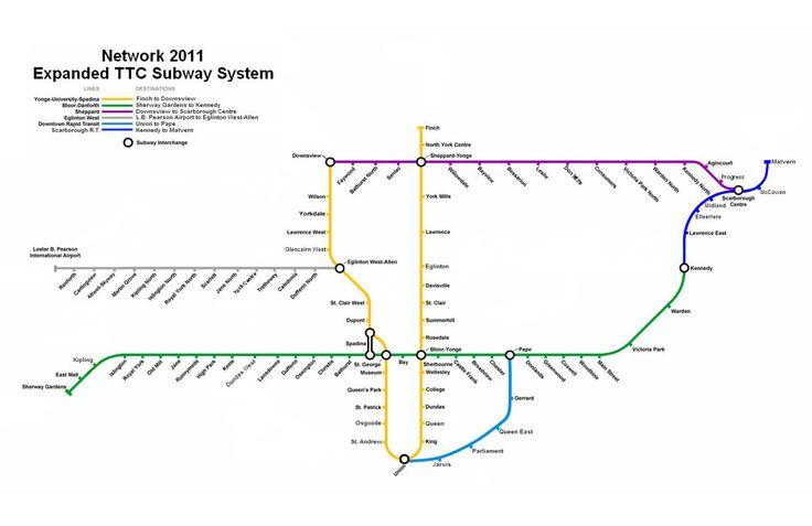 network 2011 ttc toronto