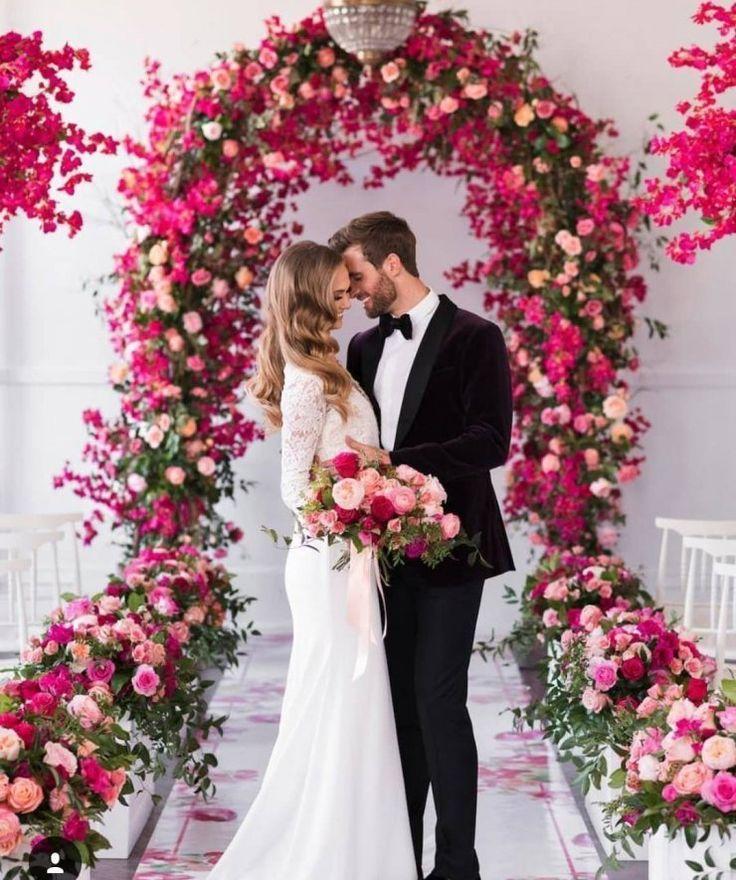 Stylowi Pl Odkrywaj Kolekcjonuj Kupuj In 2020 Bougainvillea Wedding Wedding Entourage Wedding Trellis